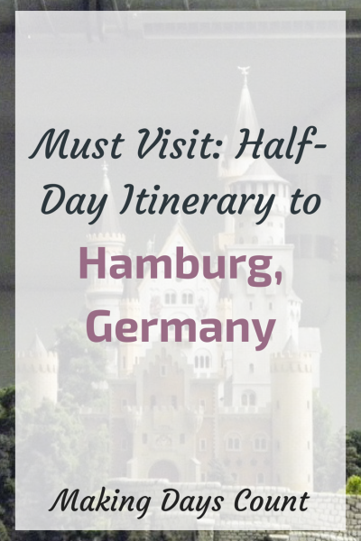 Half day itinerary in Hamburg, Germany