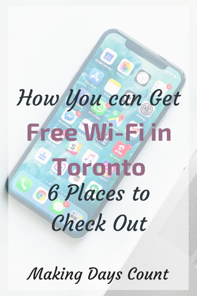 MDC Free Wi-Fi in Toronto