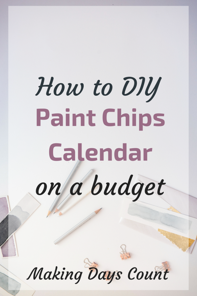 MDC Paint Chips Calendar