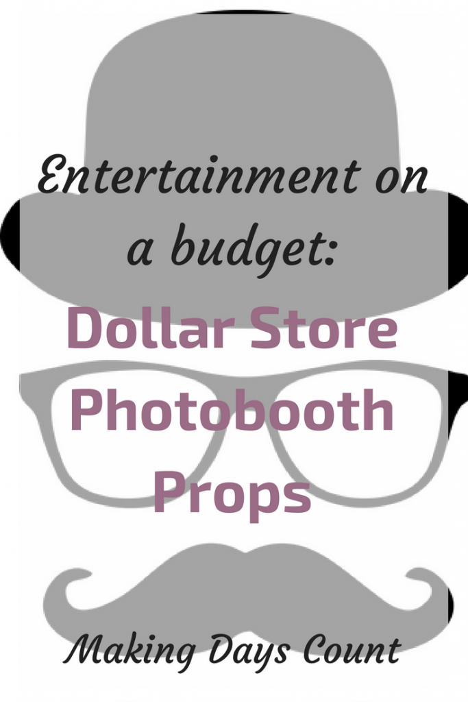 Dollar Store Photo Props