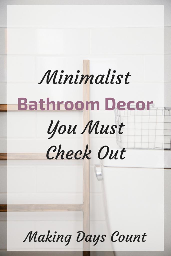 MDC Minimalist Bathroom