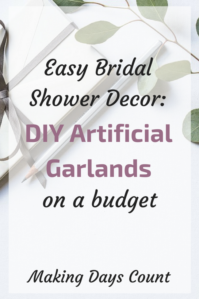 DIY Fake Garlands