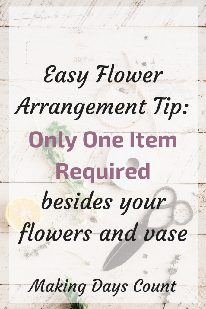 Flower Arrangement Tip