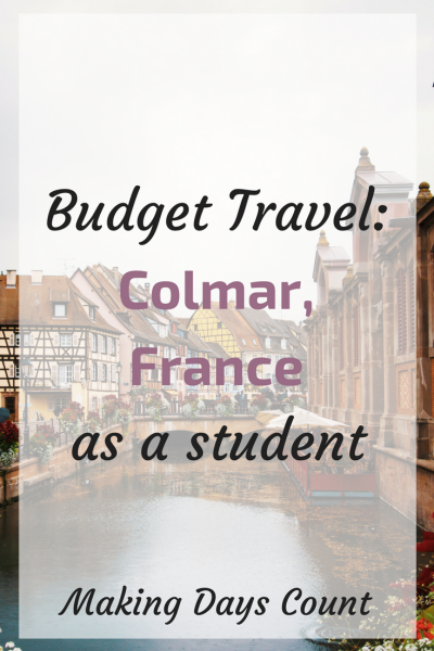 Half Day Itinerary in Colmar, France