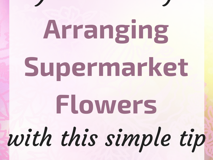 Flower Arrangement Tip