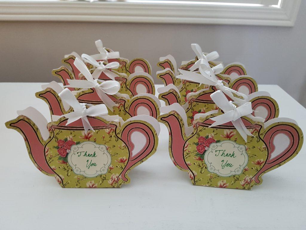 DIY Paper Teapot
