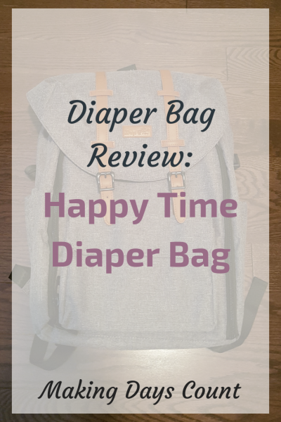 Diaper Bag Review: Happy Time