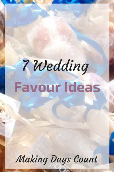 7 Wedding Favours Ideas