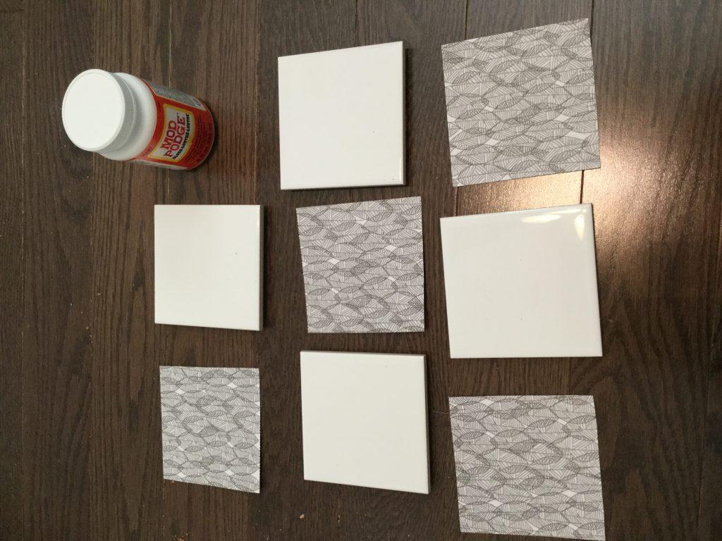 DIY Tile Coaster
