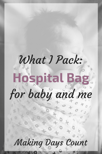 What do I pack in my hospital bag?