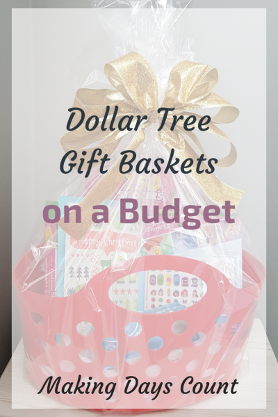 Dollar Tree Gift Baskets Ideas