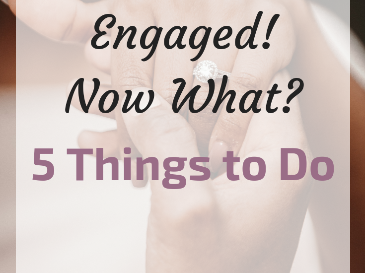 What to do after engagement by Making Days Count