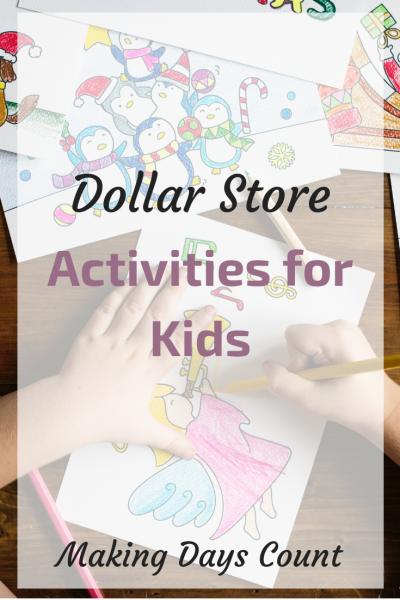 Dollar Store Kids Activities