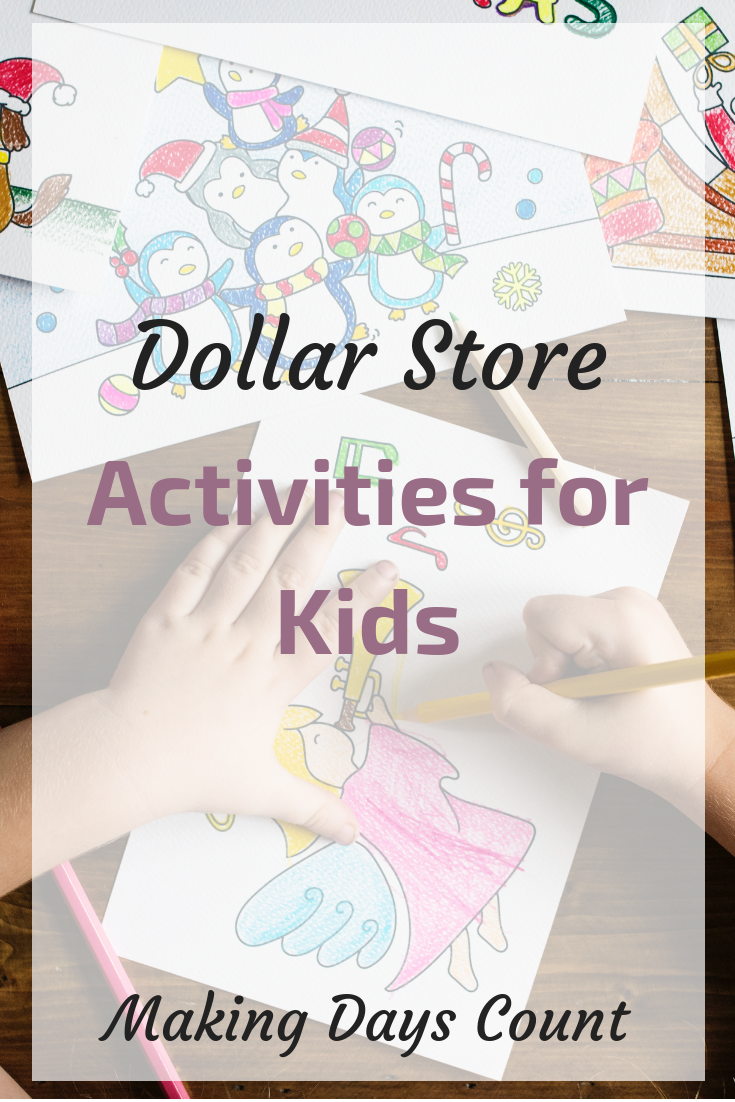 Dollar Store Kids Activities