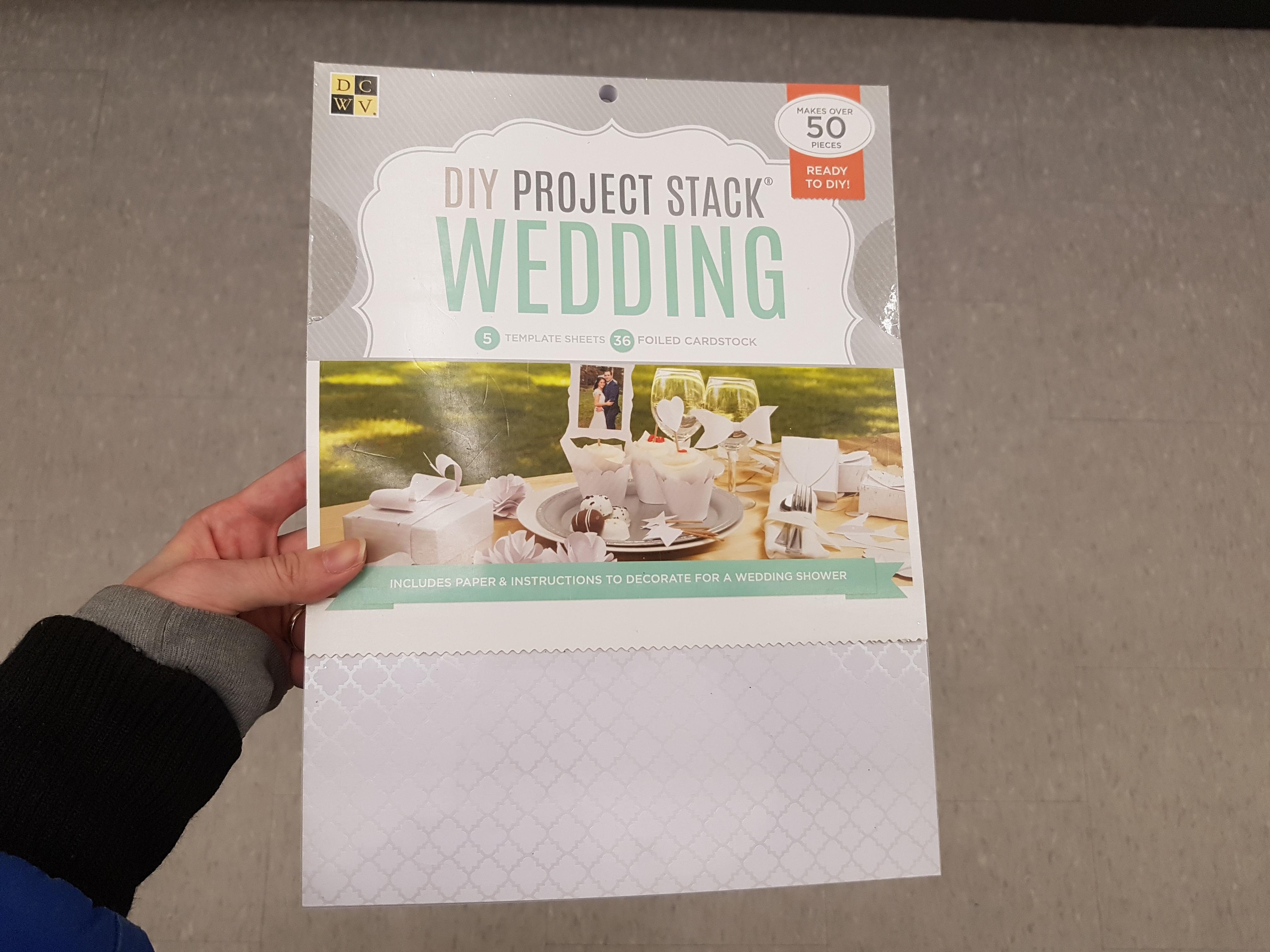 Dollar Store Wedding Items