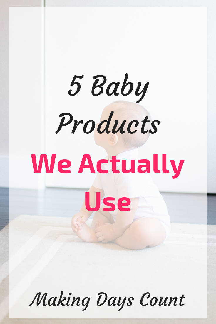 5 baby products we actually use