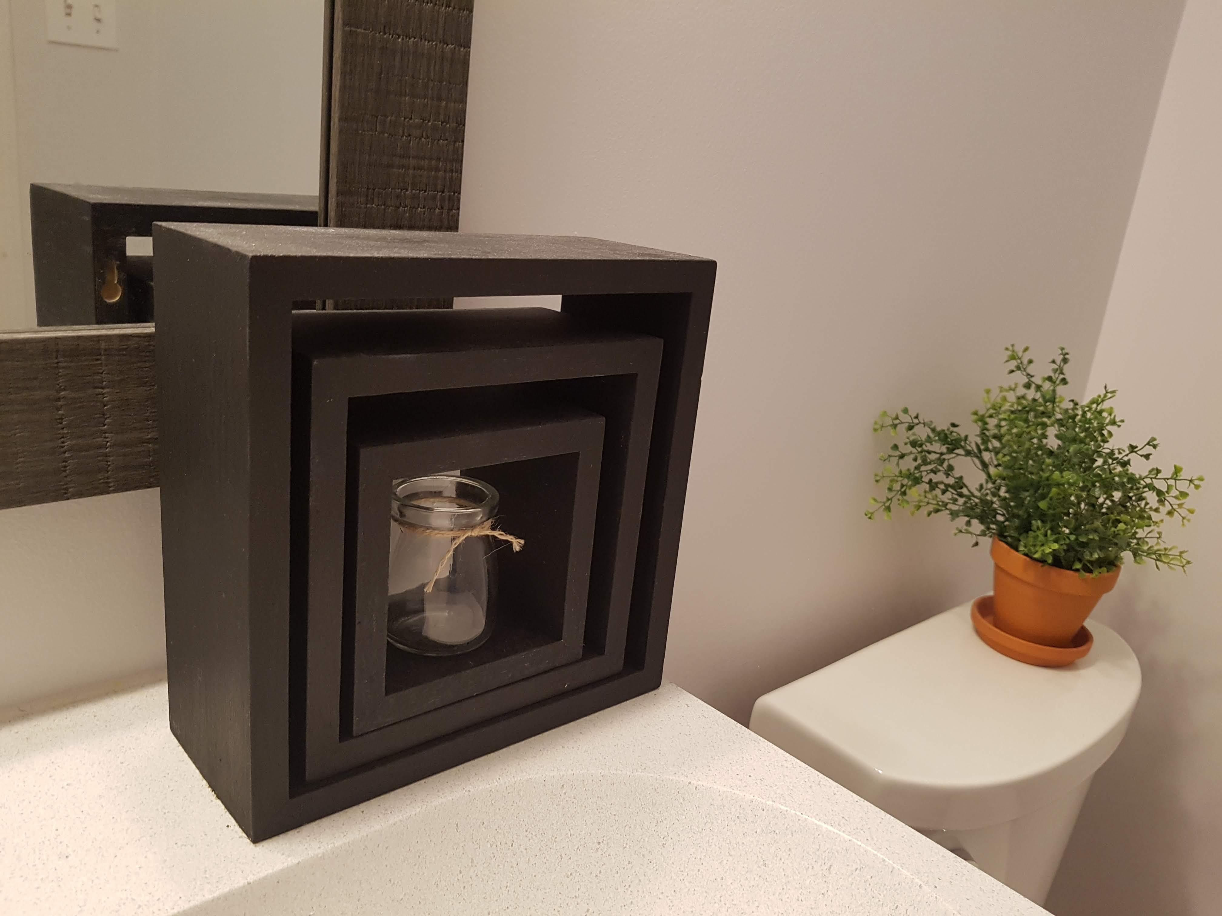 DIY Home Decor Cube Shelves