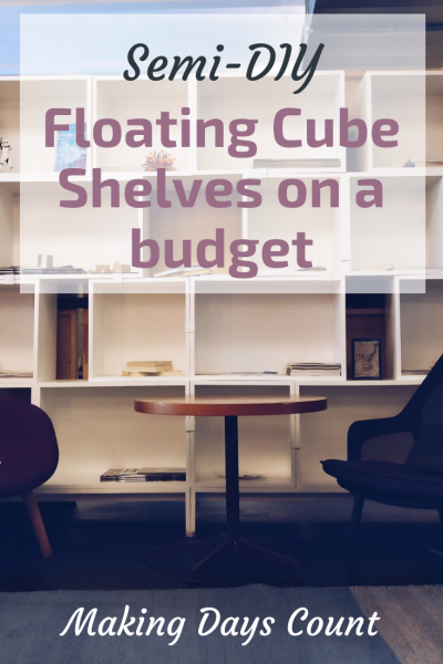 DIY Home Decor Cube Shelves