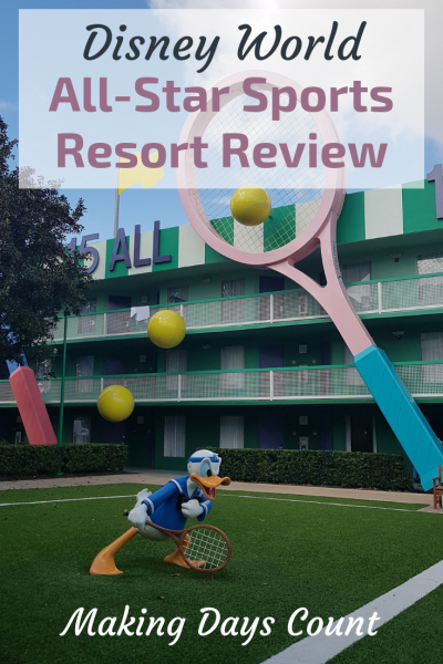 Walt Disney World All-Star Sports Resort Review