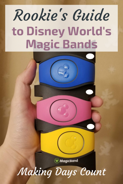 Rookie's Guide to Disney World Magic Bands