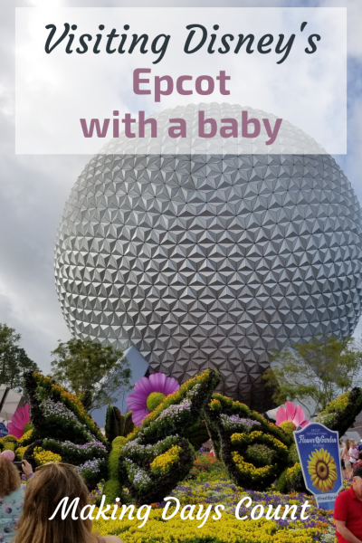 Visiting Disney World's Epcot with a baby