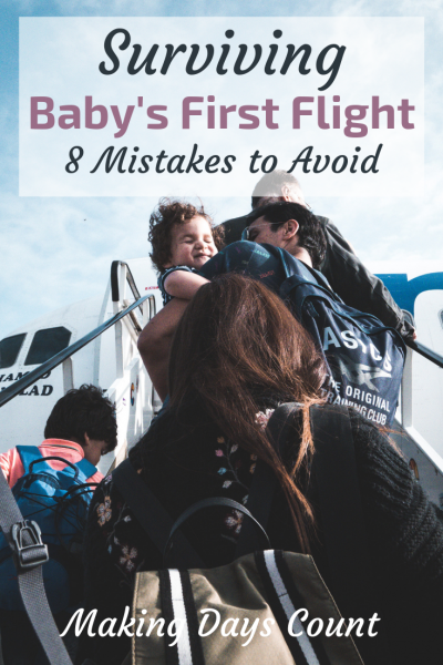 Baby's First Flight: 8 Mistakes To Avoid