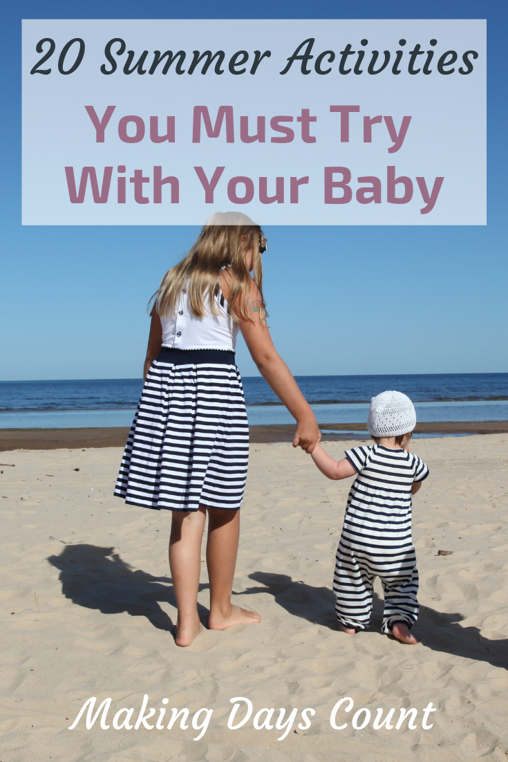 Pin this: Budget summer Activities with a baby
