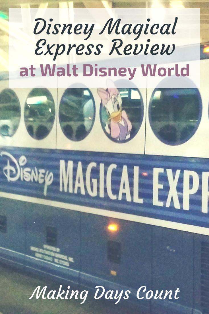 Pin this: Disney Magical Express Review