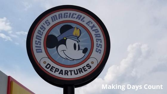 Disney Magical Express sign