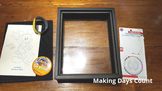 What you will need for your shadow box