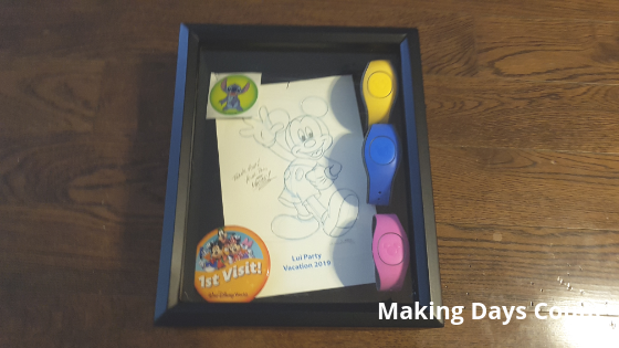 Final look of Disney Shadow box