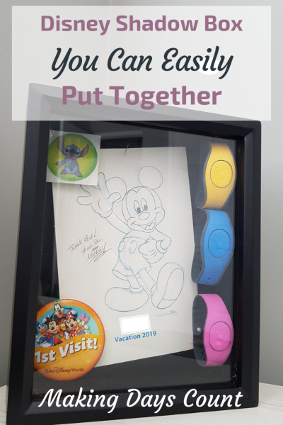 Pin this: Disney Shadow Box