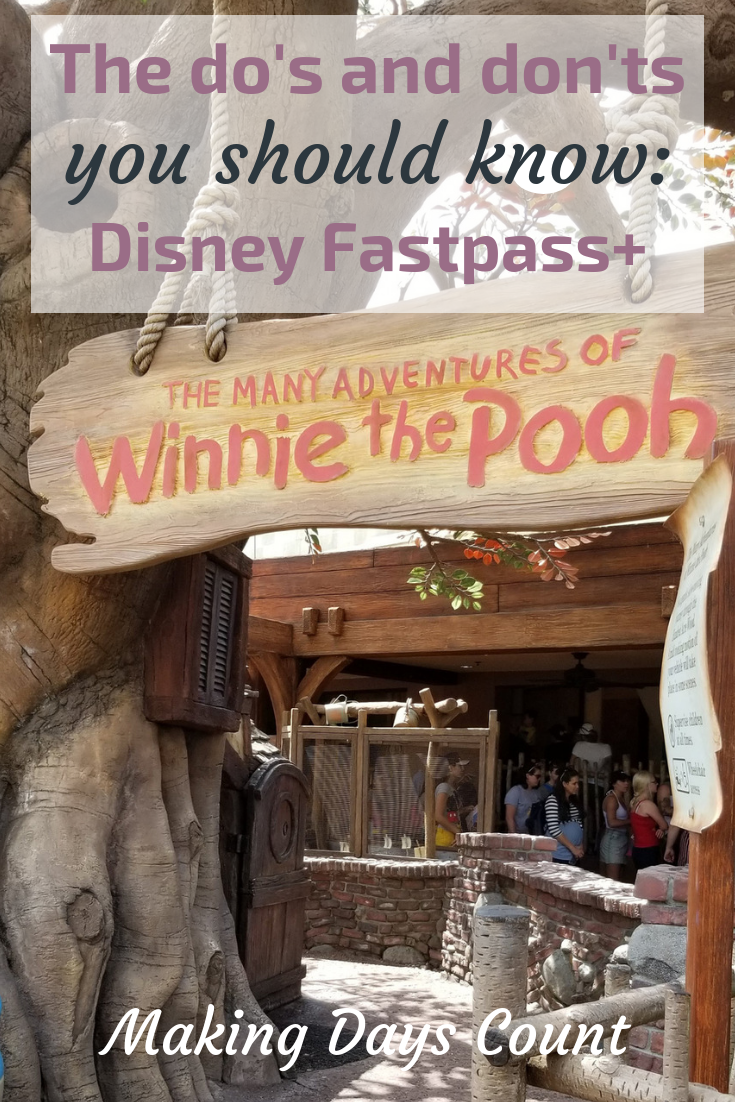 Pin this: Disney World Fastpass Guide MDC