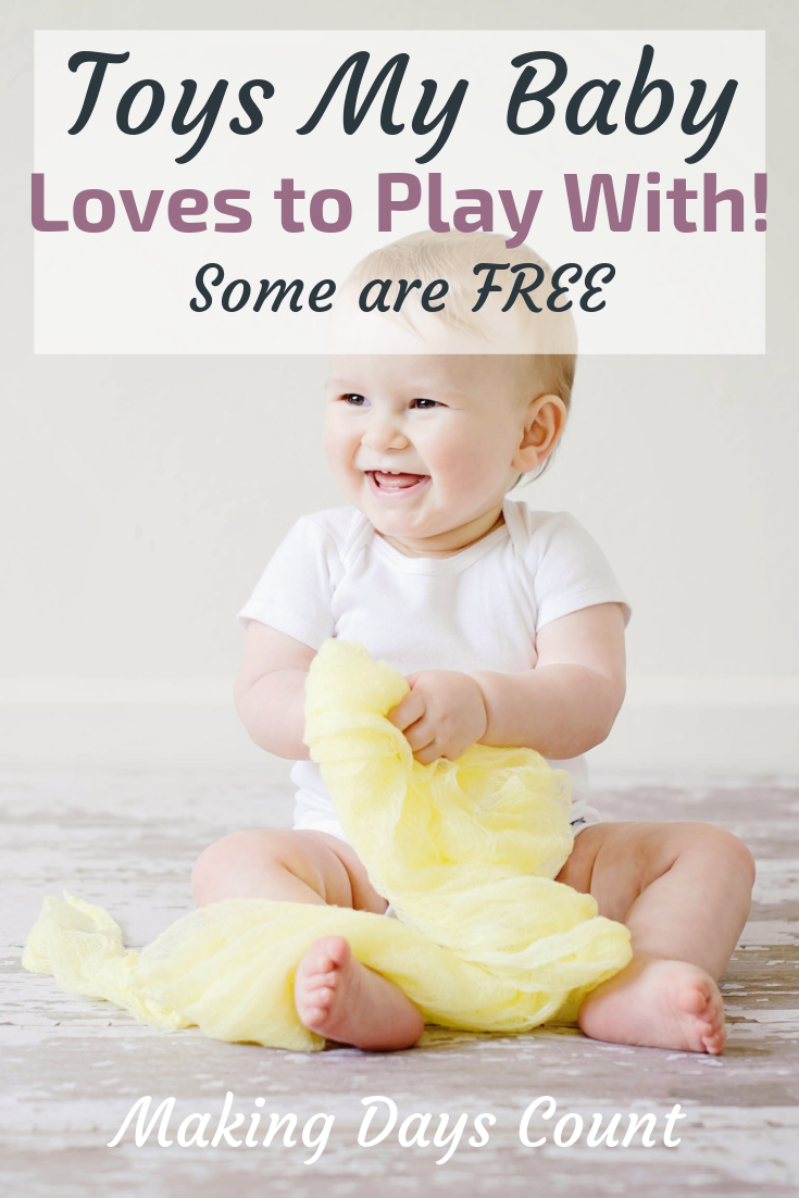 Pin this: Toys 9 months old baby love