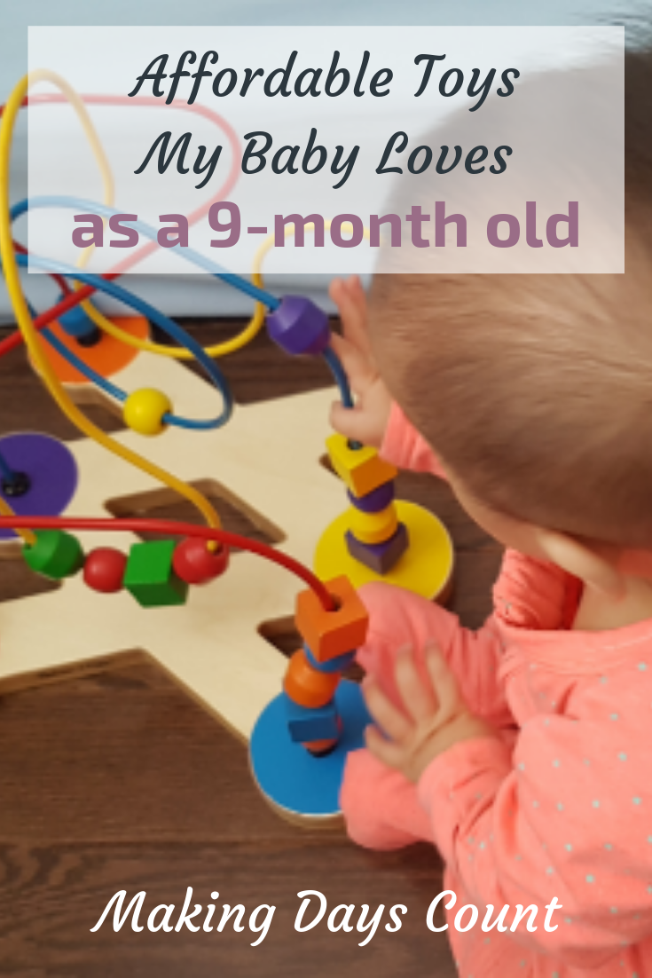 Pin this: Toys My 9 months old baby love