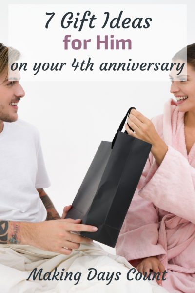 4th Year Anniversary Gifts: Gifts for Him
