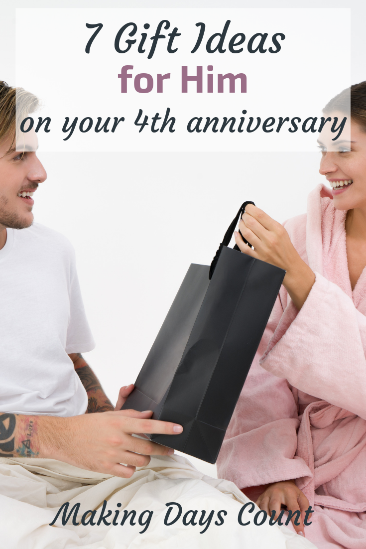 Pin this: 7 4th anniversary gift ideas