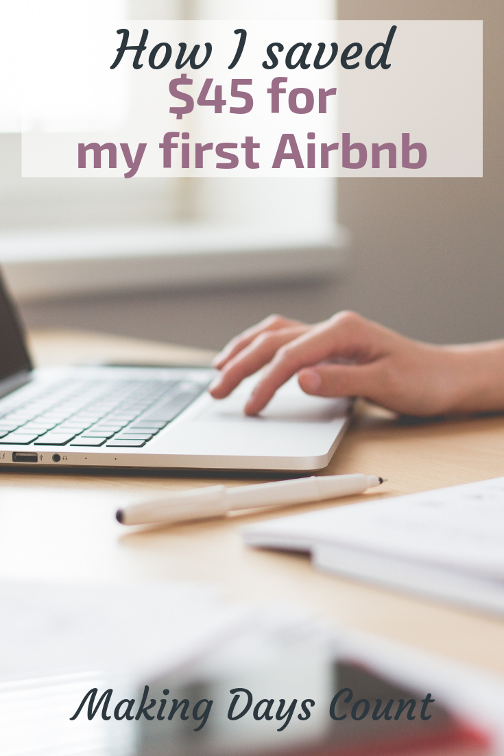 Pin this: Airbnb booking review