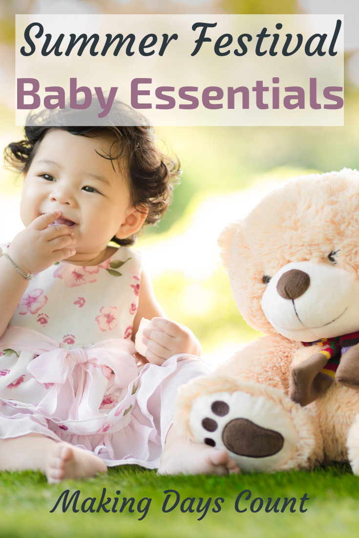 Pin this: Baby Essentials for Summer Festivals