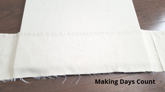 Adding a pocket with leftover cloth
