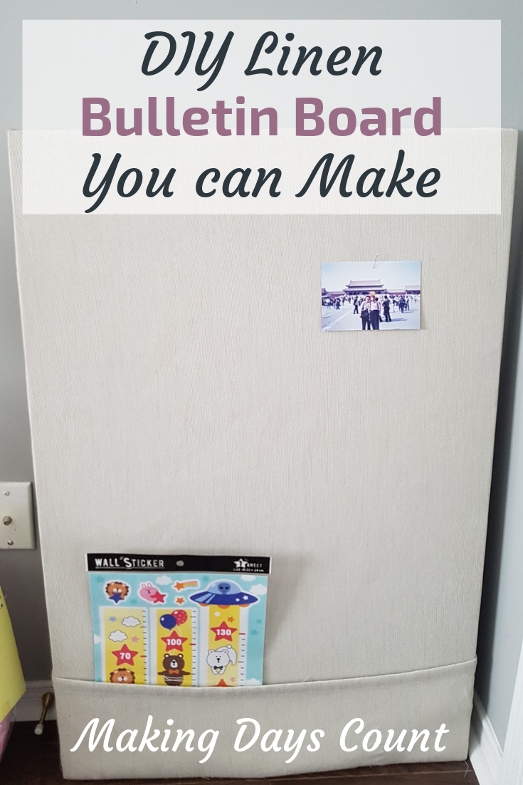 Pin this: DIY Bulletin board