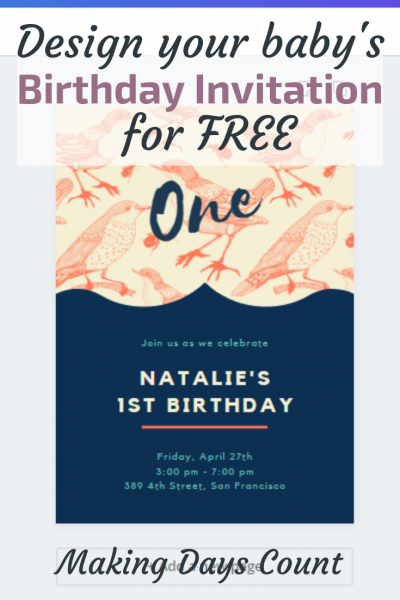 How to Design a Birthday Invitation for Free