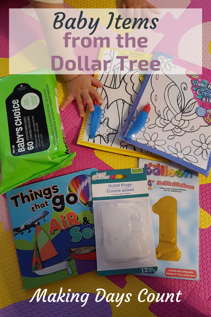 Pin this: Dollar Tree Baby Items