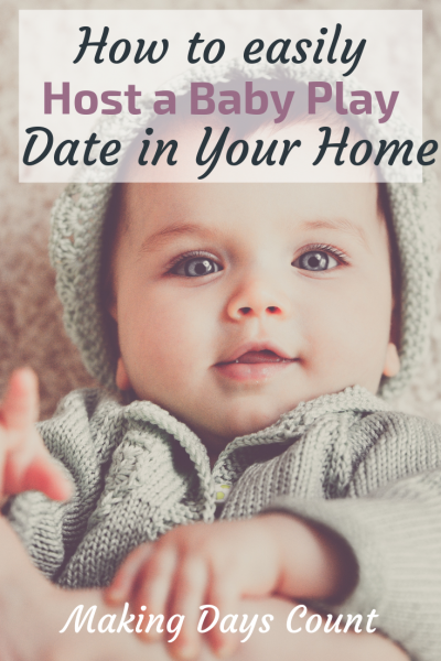 How to host a baby play date at your house