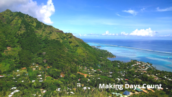 A view on Moorea