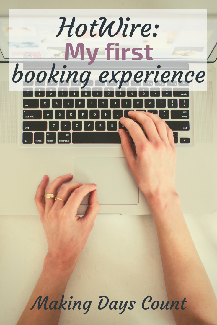 Pin this: Hotwire booking review