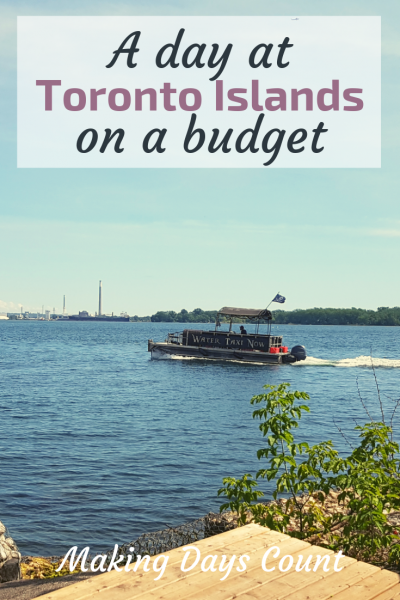 Travelling to Toronto Islands on a budget