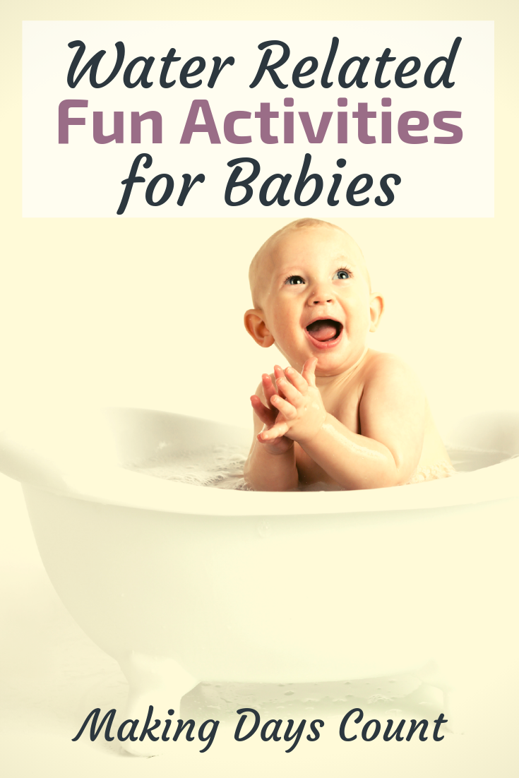Pin this: Water Play Activities with a baby