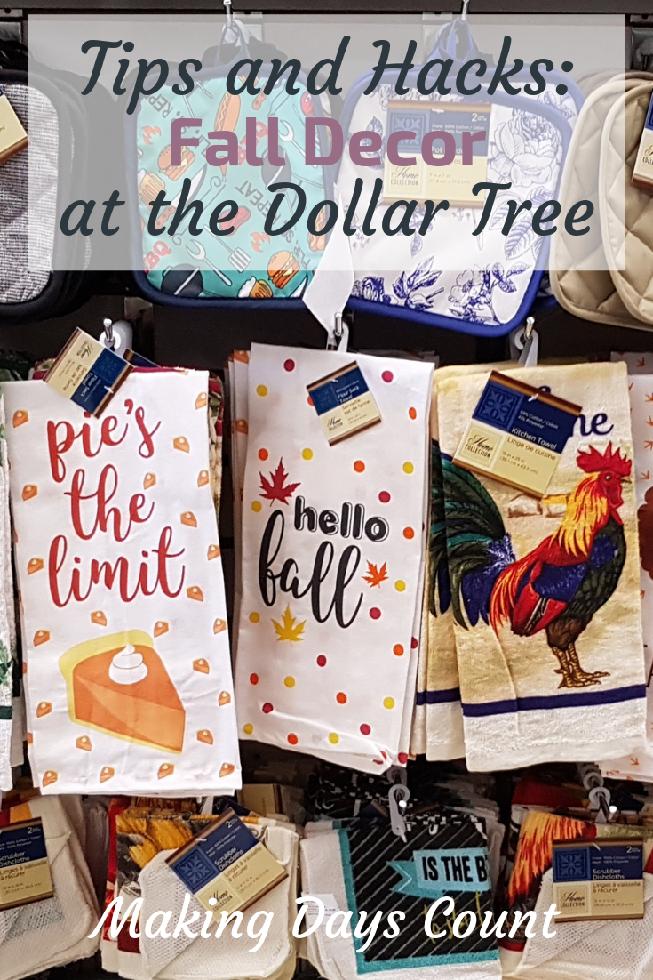What to buy at dollar tree in the fall