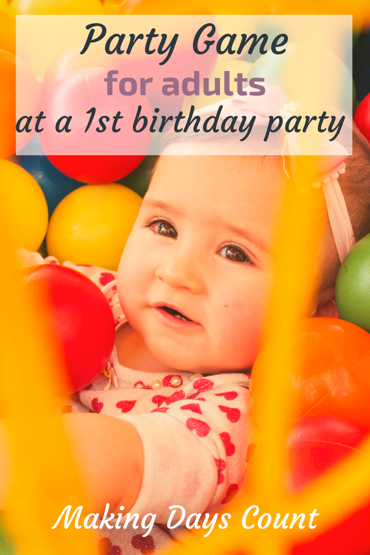 Who knows baby best? 1st birthday party game.
